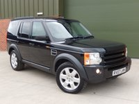 2007 LAND ROVER DISCOVERY 2.7 3 TDV6 HSE 5d AUTO 188 BHP BLACK £SOLD