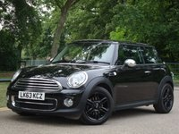 2013 MINI HATCH COOPER 2.0 COOPER D 3d AUTO 110 BHP (Chilli Pack) £10975.00