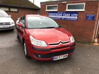 USED 2007 57 CITROEN C4 1.6 COOL HDI 16V 5d 89 BHP