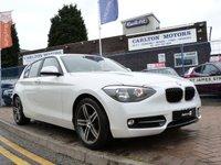 2012 BMW 1 SERIES 2.0 116D SPORT 5d  £11995.00