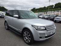 USED 2014 64 LAND ROVER RANGE ROVER 3.0 TDV6 VOGUE 5d AUTO 258 BHP Opening panoramic glass sunroof, 21-inch Diamond Turned wheels, TV, Meridian Hi-Fi ++