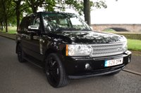 2008 LAND ROVER RANGE ROVER 3.6 TDV8 VOGUE 5d AUTO 272 BHP £16499.00