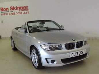 2013 BMW 1 SERIES 2.0 118I EXCLUSIVE EDITION 2d AUTO 141 BHP £14999.00
