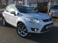 USED 2011 61 FORD KUGA 2.0 TITANIUM X TDCI 4X4 AUTO (BEST COLOUR) GLACIER WHITE+FULL BLACK HEATED SEATS-HEATED FRONT WINDSCREEN-FACTORY(FITTED ALUMINIUM)ROOF RAILS-POWER SHIFT(PANORAMIC ROOF)BUY NOW PAY LATER-P/X WELCOME(CASH EITHER WAY) SOLD AS SEEN!! TRADE SALE!!