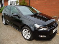 2013 VOLKSWAGEN POLO 1.4 MATCH 5d 83 BHP Bluetooth & DAB Radio + More £7636.00