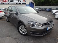 USED 2013 13 VOLKSWAGEN GOLF 1.4 S TSI BLUEMOTION TECHNOLOGY 5d 120 BHP NATIONALLY PRICE CHECKED DAILY