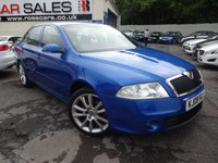 USED 2008 08 SKODA OCTAVIA 2.0 VRS TDI CR 5d 168 BHP NATIONALLY PRICE CHECKED DAILY