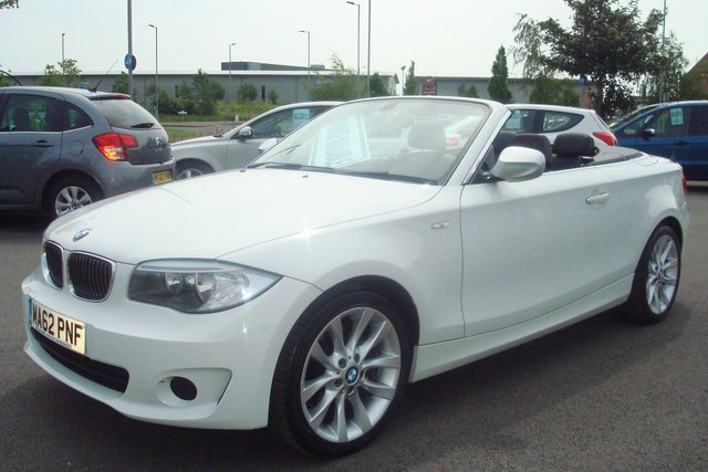 2012 62 BMW 1 SERIES 2.0 118D EXCLUSIVE EDITION 2d 141 BHP