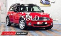 2010 MINI CLUBMAN 1.6 COOPER 5d 122 BHP £6500.00