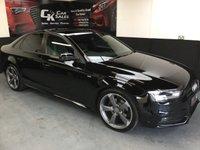 2013 AUDI A4 2.0 TDI S LINE BLACK EDITION 4d 141 BHP £16800.00