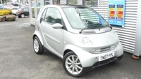 2007 SMART FORTWO 0.7 PASSION SOFTOUCH 2d AUTO 61 BHP £3600.00