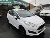 USED 2013 63 FORD FIESTA 1.0 ZETEC S 3d 124 BHP JUST ARRIVED CALL 01543 379066