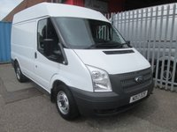 2013 FORD TRANSIT 280 SWB Medium roof 100PS *ONE OWNER*6 SPEED* £8250.00