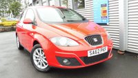 2012 SEAT ALTEA 1.6 SE DSG CR TDI 5d AUTO 103 BHP £6650.00