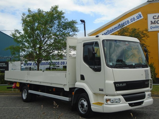 2006 06 DAF LF FA 45 150 Dropside 20.ft Double sided Alloy body [ Low Mileage ] Ex M.O.D. Free UK Delivery