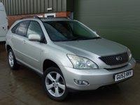 2003 LEXUS RX 3.0 300 SE 5d 202 BHP £4000.00
