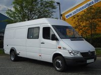 2003 MERCEDES-BENZ SPRINTER Sprinter 413 CDi AWD Lwb High Roof window van Low mileage-Free UK Delivery £7950.00