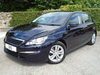 2014 PEUGEOT 308 1.6 E-HDI ACTIVE 5d 114 BHP- SUPERB SPECIFICATION!- £9495.00