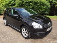 2008 NISSAN QASHQAI 2.0 TEKNA 4WD PAN ROOF-LEATHER 5dr 140 BHP £5250.00