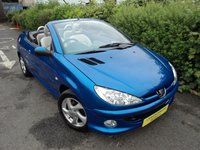 USED 2005 54 PEUGEOT 206 1.6 ALLURE S COUPE CABRIOLET 2d 108 BHP