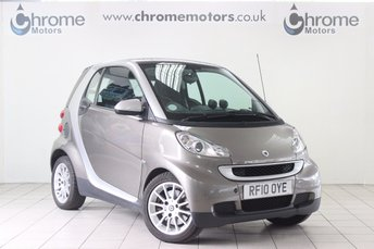 2010 SMART FORTWO 1.0 PASSION MHD 2d AUTO 71 BHP £3495.00