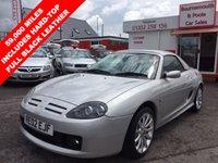 2002 MG TF 1.8 160 2d 159 BHP £2495.00