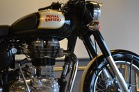 USED 2016 ROYAL ENFIELD CLASSIC SATIN 500 BLACK .