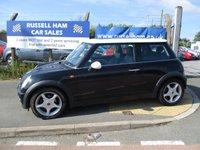 2002 MINI HATCH COOPER 1.6 COOPER 3d 114 BHP £1995.00