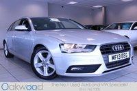 2013 AUDI A4 AVANT 2.0 TDIE 163 BHP SE TECHNIK 5d £12985.00