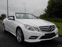 2013 MERCEDES-BENZ E CLASS 2.1 E220 CDI BLUEEFFICIENCY SPORT 2d AUTO 170 BHP £22490.00
