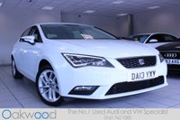 2013 SEAT LEON 2.0 TDI 150 BHP SE TECHNOLOGY 5d £9985.00