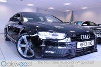 2013 AUDI A4 2.0 TDI 143 BHP S LINE BLACK EDITION 4d £16485.00