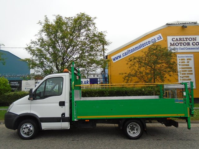 2011 61 IVECO-FORD DAILY Iveco Daily 35C13 Dropside-Pickup 13ft Alloy body+T/Lift Low Mileage Free UK Delivery
