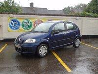 2005 CITROEN C3 1.1 DESIRE 5d 60 BHP £1500.00