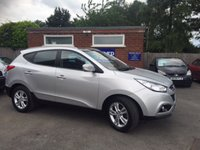 USED 2012 12 HYUNDAI IX35 1.7 PREMIUM CRDI 5d 114 BHP HYUNDAI WARRANTY 03/2017, LEATHER, 2 OWNERS
