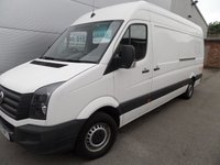 2013 VOLKSWAGEN CRAFTER 2.0 CR35 TDI 1d 107 BHP WITH TAIL LIFT PLUS VAT £10995.00