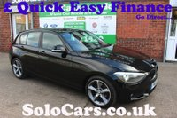2012 BMW 1 SERIES 2.0 116D SE 5d 114 BHP £8799.00