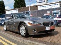 2003 BMW Z4 2.5 Z4 ROADSTER 2d 190 BHP £5495.00