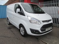 2014 FORD TRANSIT CUSTOM 270 LIMITED L1 SWB 125PS *AIR CON*LOW MILES* £SOLD