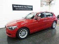 2012 BMW 1 SERIES 2.0 116D SE 5d 114 BHP £8500.00