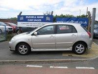 2005 TOYOTA COROLLA 1.6 T3 COLOUR COLLECTION VVT-I 5d AUTO 109 BHP £2995.00