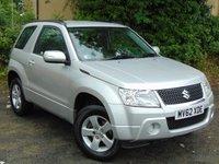 2012 SUZUKI GRAND VITARA 1.6 SZ3 3d 106 BHP £8000.00