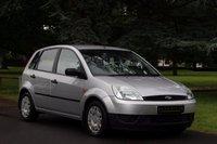 2002 FORD FIESTA 1.3 LX 8V 5d 68 BHP £1990.00