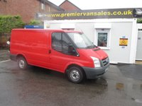 2007 FORD TRANSIT *** NO VAT TO PAY! *** 2.2 260 SHORT WHEEL BASE, LOW ROOF, RED, 12 MONTHS M.O.T CLEAN VAN, DRIVES PERFECT £3500.00