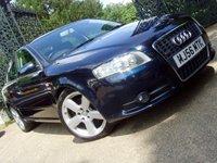 2006 AUDI A4 2.0 TDI S LINE DPF 4d 170 BHP £5499.00