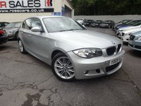 USED 2009 09 BMW 1 SERIES 2.0 118D M SPORT 5d 141 BHP NATIONALLY PRICE CHECKED DAILY