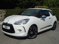 2011 CITROEN DS3 1.6 HDI BLACK AND WHITE 3d 90 BHP £8290.00