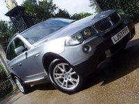 2007 BMW X3 2.0 D SE 5d 148 BHP £7999.00