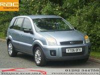 2006 FORD FUSION 1.4 ZETEC 5d 68 BHP £2495.00