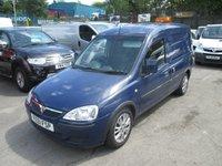 2011 VAUXHALL COMBO VAN  1700 SE ECO FLEX DIESEL   ALLOYS ONE EX LEASE COMPANY OWNER   £2995.00
